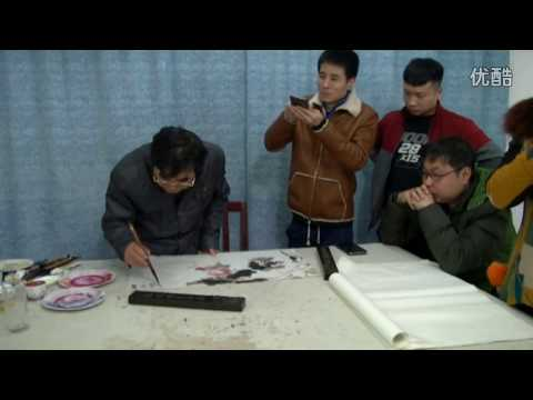 Traditional Chinese painting : Lotus painting