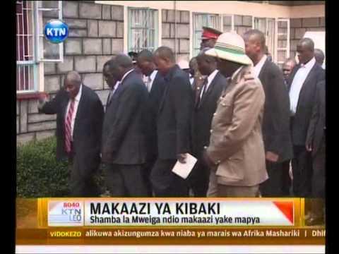 Makaazi mapya ya Mwai Kibaki