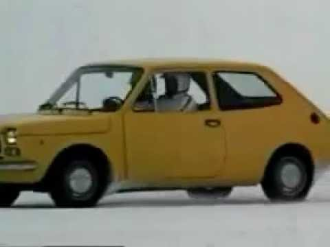 Commercial Fiat 127 1972 Youtube