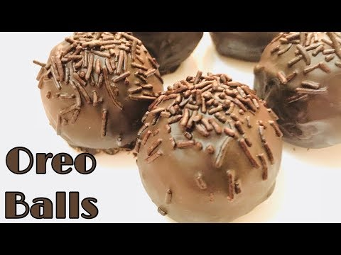Oreo Balls Recipe | No Bake Oreo Balls Recipe | Children's Day Special | Chocolate Oreo Balls | Oreo
