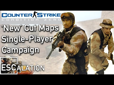 Cut Content Single Player Challenge For Counter-Strike: CZ (Download)
