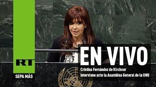 El discurso de Cristina Fernández de Kirchner en la 70ª Asamblea General de la ONU 2015