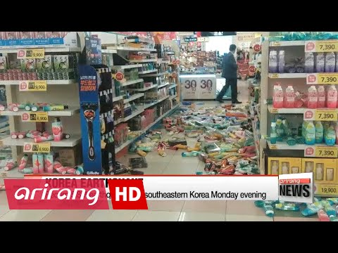 Record 5.8M earthquake jolts southeastern Korea, six injured