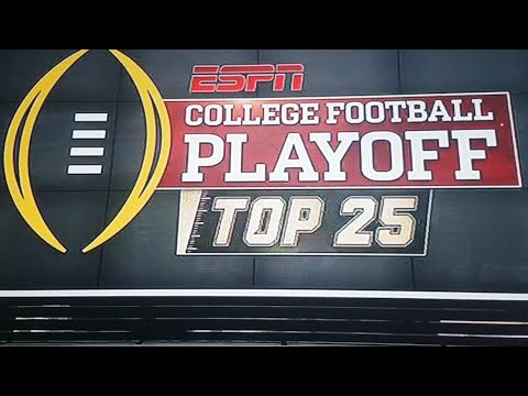 🔴LIVE🔴 College Football Playoff Poll Reaction