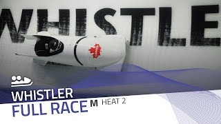 Whistler | BMW IBSF World Cup 2016/2017 - 2-Man Bobsleigh Heat 2 | IBSF Official