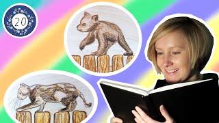 Adventskalender - 20. Geschichte: Der Bär und die Katze