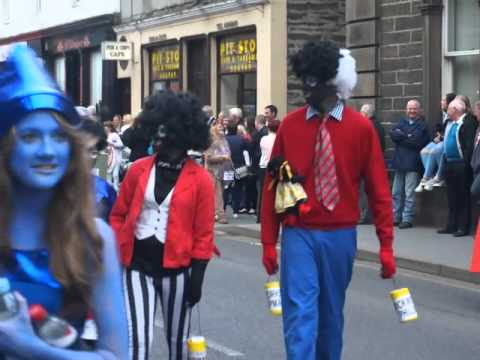 Golliwogs on parade in Wick!