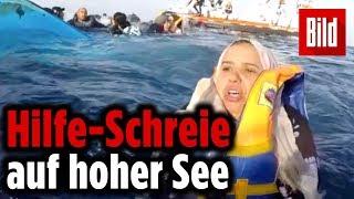 Italienische Küstenwache rettet 63 Menschen