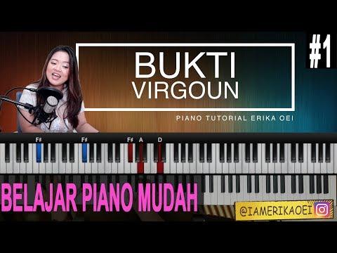 BELAJAR PIANO - BUKTI VIRGOUN | IRINGAN PIANO