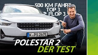 Polestar 2: Attack on Tesla Model 3! Android test with @Felixba