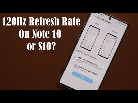 You Can Enable 120Hz Refresh Rate on Your Galaxy Note 10 Plus or S10, But Does It Work?
