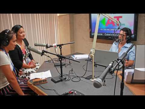 """On the Radio !"" - Chief Nursing Officer Kathleen Ho and Nurse Manager Jennifer Cruz"