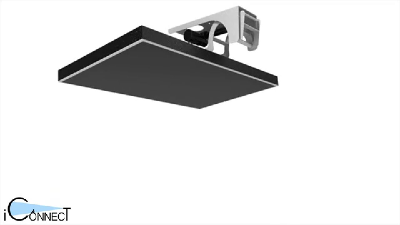 iconnect fold down ceiling inverted tv lift tvlri