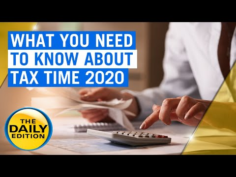 What You Need To Know About Tax Time 2020 | 7NEWS
