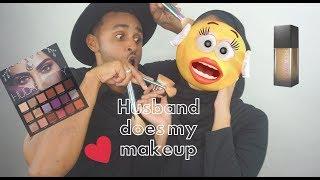 Video MY HUSBAND DOES MY MAKEUP TAG download MP3, 3GP, MP4, WEBM, AVI, FLV Oktober 2018