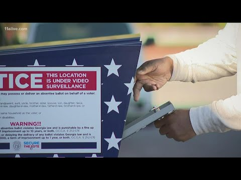 Georgia secretary of state announces results of election signature match audit