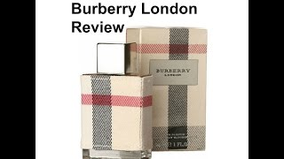 Burberry London EDP for women fragrance review