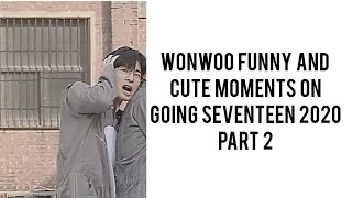 (PART 2) Wonwoo Funny and Cute Moments on Going Seventeen 2020