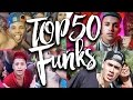 Top 50 Funks Mais Tocados 2017