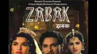 Mohd.Rafi/Hafiz & Sadhna Sargam-Karaoke- Teri dunya se door-Film Zabak