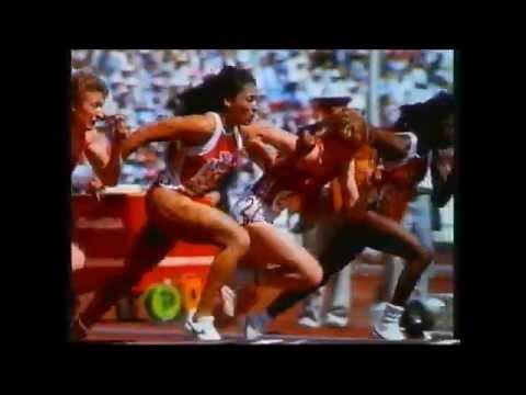 Florence Griffith Joyner - Seoul Olympics 1988