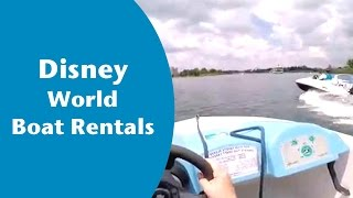 Disney World Boat Rentals - Disney World Motorized Boats