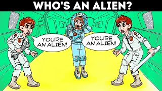 🎤 Solve These Mystery Riddles To Stop An Alien Invasion 👽