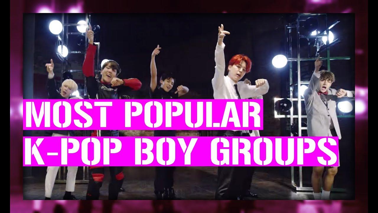 [TOP 27] MOST POPULAR K-POP BOY GROUPS ON YOUTUBE (2016)