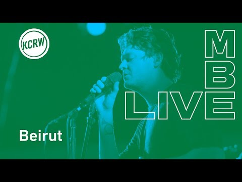 "Beirut performing ""Gallipoli""  on KCRW"