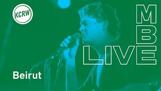 "Beirut performing ""Gallipoli"" live on KCRW"