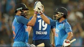 Virat Kohli 122 Runs 105 Balls India vs England 1st ODI 2017