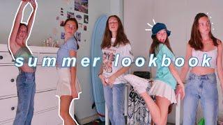 SUMMER LOOKBOOK my style recently