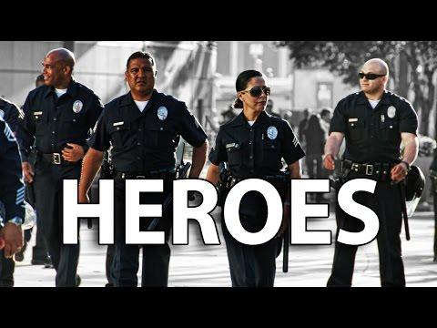 LAPD Heroes Arrest Hundreds of Violent Anti Trump Protestors