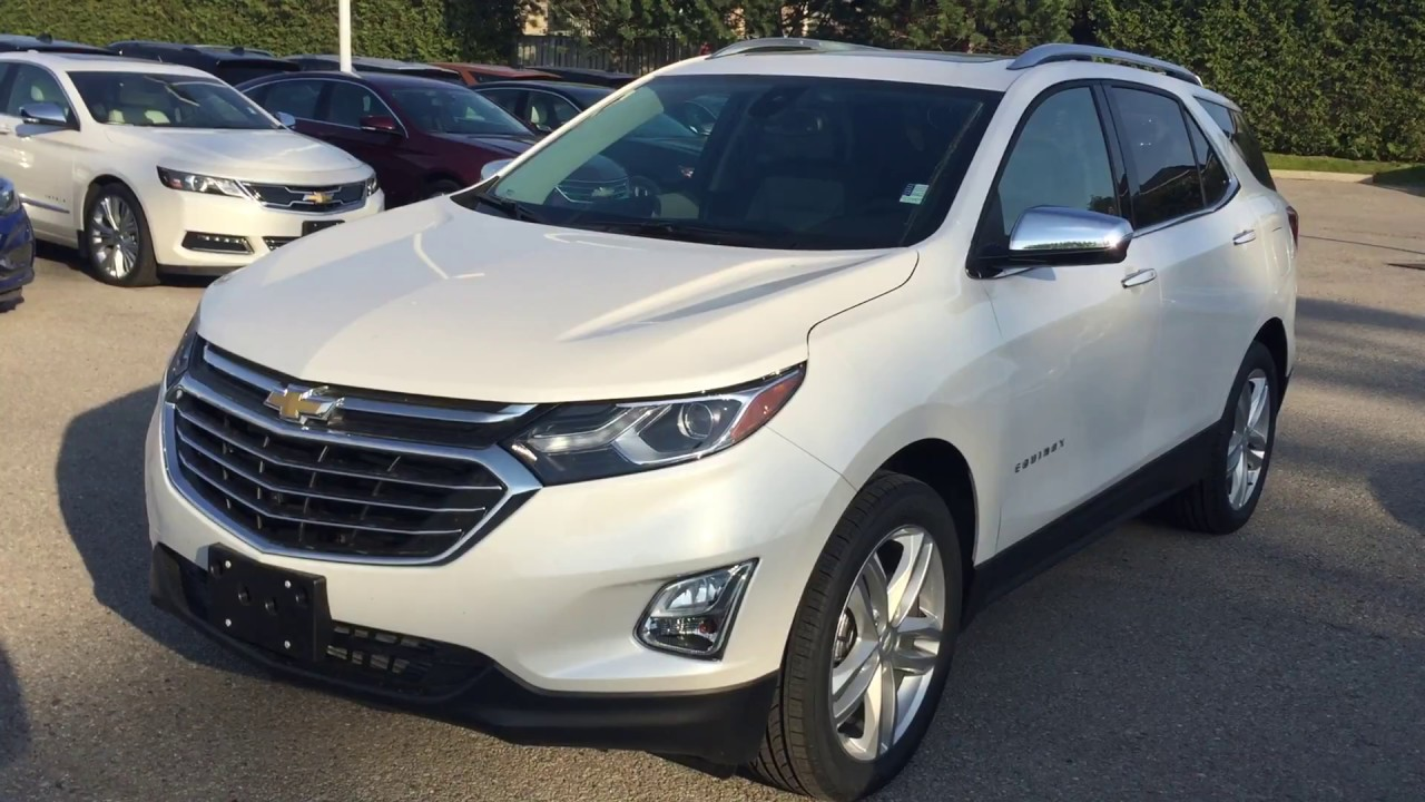 2017 Chevrolet Equinox Premier >> 2018 Chevrolet Equinox Premier AWD Iridescent Pearl ...