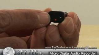 The Smallest Hidden Audio Recorder - Micro Digital Audio Recorder Review