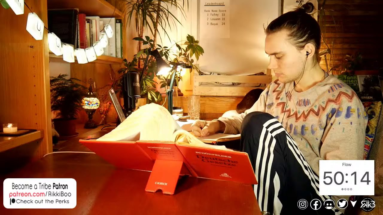Study With Me Live (lofi hip hop)   60-10 Pomodoro   FOREST APP   공부방송 !studyrace #studywithmelive