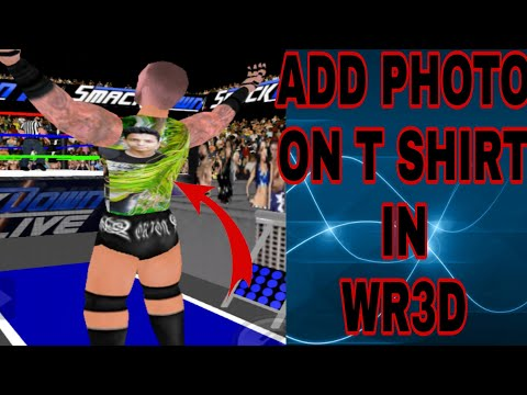 WR3D ADD YOUR PHOTO ON T-SHIRT