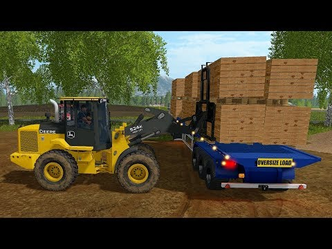 Farming Simulator 17 - Forestry and Farming on Woodshire 068 thumbnail