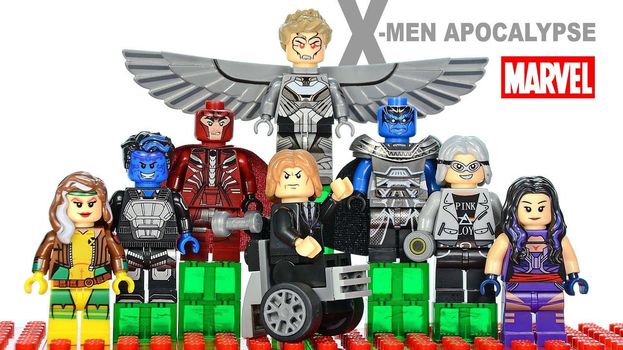 how to get professor x in lego marvel