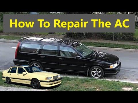 How to fix the AC on your Volvo 850, S70, V70, V70R, V70XC, etc. Troubleshooting, examples etc. VOTD