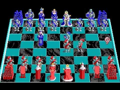 Battle Chess (MS-DOS) - Gameplay