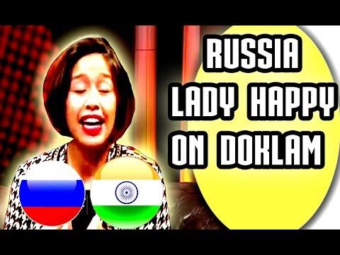 RUSSIAN MEDIA HAPPY FOR INDIA'S SUCCESS ON DOKLAM STANDOFF 2017 Latest