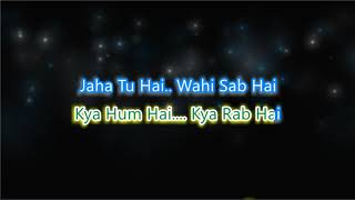 Ishq Sufiyana - Unplugged - Karaoke with Lyrics and Chorus