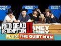 Red Dead 2! The Quiet Man! | Gamey Gamey Game