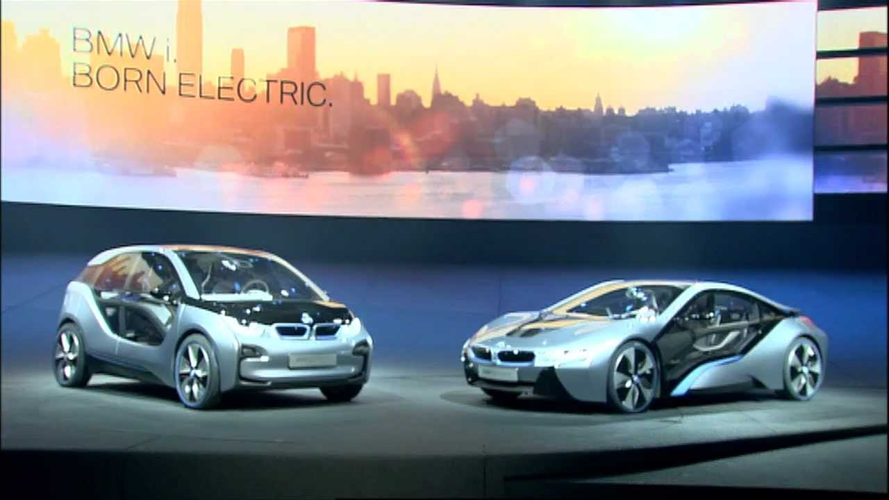 BMW I3 Concept And BMW I8 Concept Pictures