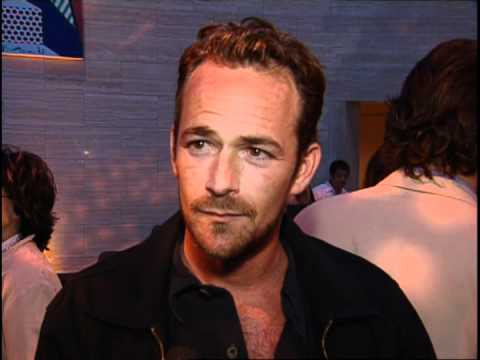 Luke Perry Checks Out Victoria Beckham