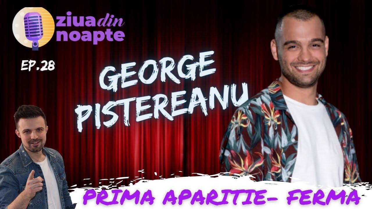 George Pistereanu: Prima aparitie dupa eliminarea din FERMA! Vorbe la cald   Ziua din Noapte - Ep#28