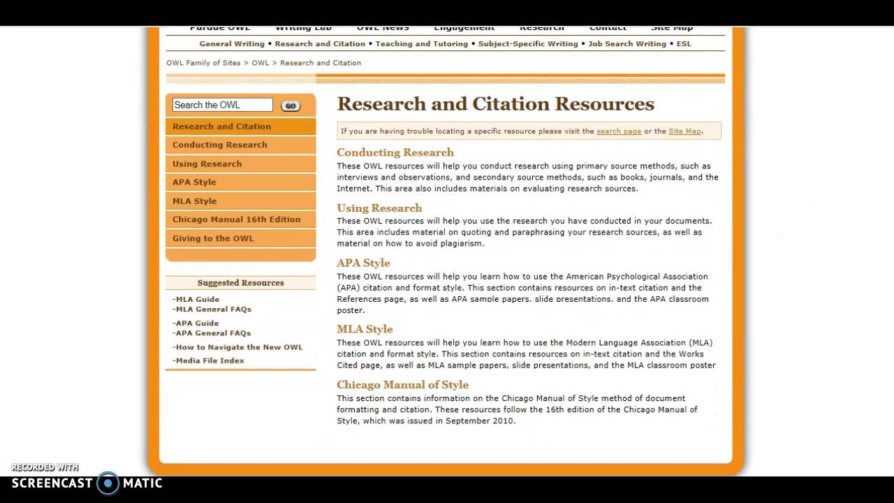 Mla Citations And Avoiding Plagiarism English Libguides At Turabian Style  Paper Purdue Owl Writing Lab Sample
