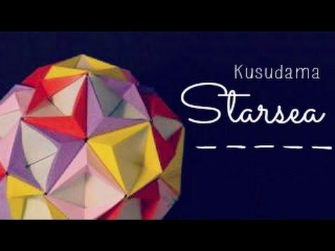 Corona Grande Star by Maria Sinayskaya — Diagram   Origami ...   360x480