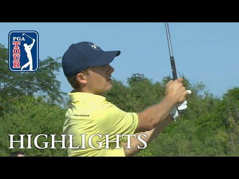 Jordan Spieth extended highlights   Round 2   Hero